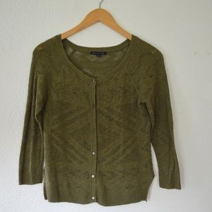 American Eagle Button Down Knit Sweater Cardigan